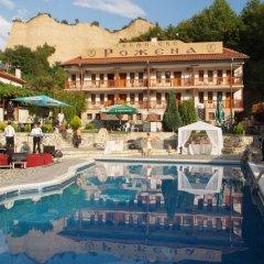 Отель Rozhena Hotel Болгария, Сандански - отзывы, цены и фото номеров - забронировать отель Rozhena Hotel онлайн бассейн фото 3