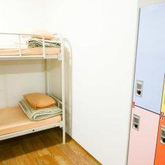 YaKorea Hostel Dongdaemun Кровать в общем номере с двухъярусной кроватью фото 13