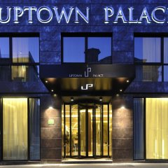Отель Uptown Palace 4* Стандартный номер с различными типами кроватей фото 11