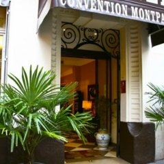 Hotel Convention Montparnasse вид на фасад фото 2