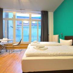 Five Elements Hostel Leipzig Улучшенный номер с различными типами кроватей фото 2