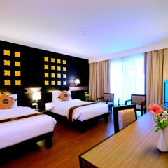Crystal Palace Hotel 4* Номер Делюкс с различными типами кроватей фото 14
