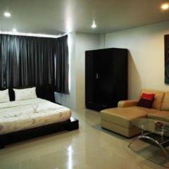 Апартаменты Naiharn Beach Road Apartment Студия Делюкс с различными типами кроватей фото 7