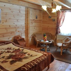 Гостиница Медведь Волосянка комната для гостей фото 6