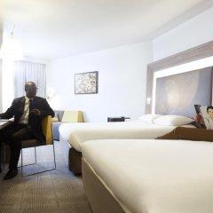 Отель Novotel Paris Les Halles 4* Представительский номер с различными типами кроватей фото 4