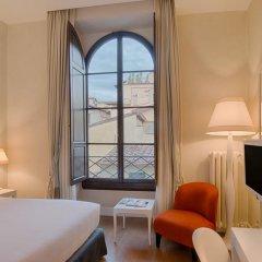 Отель NH Collection Firenze Porta Rossa 5* Улучшенный номер с различными типами кроватей фото 3