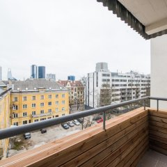 Апартаменты Tallinn City Apartments - Central балкон