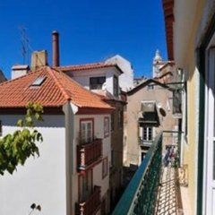 Отель Se de Lisboa I балкон