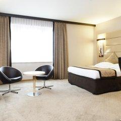 Отель Novotel Brussels Centre Midi Station 4* Улучшенный номер с различными типами кроватей фото 3