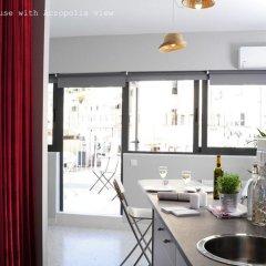 Апартаменты Live in Athens, short stay apartments в номере