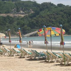Отель Patong Rose Guesthouse пляж