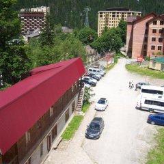 Отель Таулу Домбай балкон