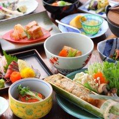 Отель Tarutama Onsen Yamaguchi Ryokan Минамиогуни питание