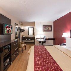 Отель Red Roof Inn PLUS+ Columbus-Ohio State University OSU 2* Улучшенный номер с различными типами кроватей фото 3