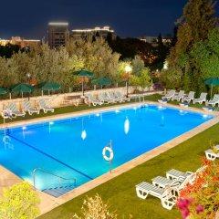 Leonardo Plaza Hotel Jerusalem Израиль, Иерусалим - 9 отзывов об отеле, цены и фото номеров - забронировать отель Leonardo Plaza Hotel Jerusalem онлайн бассейн фото 3