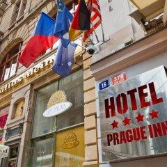 Hotel Prague Inn Прага городской автобус