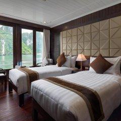 Отель Pelican Halong Cruise 4* Номер Делюкс с различными типами кроватей фото 3