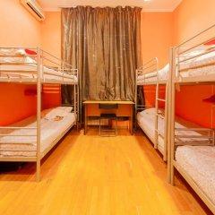 Отель Жилое помещение Bear на Смоленской Кровать в общем номере фото 16