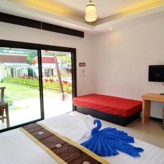 Отель Golden Bay Cottage 3* Улучшенное бунгало с различными типами кроватей фото 12