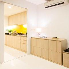Отель The Silver Palm Rama 9 - Bangkok 4* Студия с различными типами кроватей фото 7