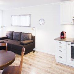 Отель Hosapartments City Center Улучшенные апартаменты с различными типами кроватей фото 5