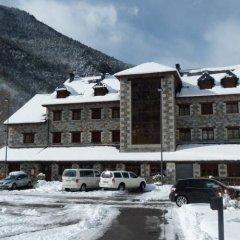 Hotel Camping Bielsa парковка
