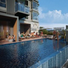 Отель Hill Myna Condotel бассейн