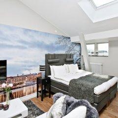 Отель Avenue A1 Улучшенные апартаменты с различными типами кроватей фото 7