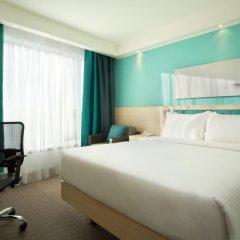 Гостиница Hampton by Hilton Moscow Strogino (Хэмптон бай Хилтон) 3* Стандартный номер с двуспальной кроватью фото 4