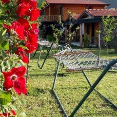 Отель Cirali Flora Pension 3* Стандартный семейный номер с двуспальной кроватью