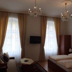 Отель Paderewski Чехия, Карловы Вары - отзывы, цены и фото номеров - забронировать отель Paderewski онлайн комната для гостей фото 3