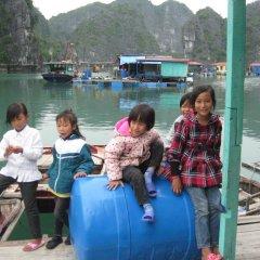 Отель Bai Tu Long Junks 3* Номер Делюкс с различными типами кроватей фото 42