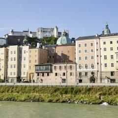Отель Radisson Blu Altstadt Зальцбург приотельная территория
