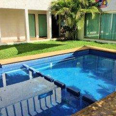 Отель Hostal Ecoplaneta Мексика, Канкун - отзывы, цены и фото номеров - забронировать отель Hostal Ecoplaneta онлайн бассейн фото 3