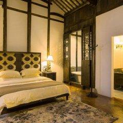 Отель Suzhou Shuian Lohas Вилла с различными типами кроватей фото 18