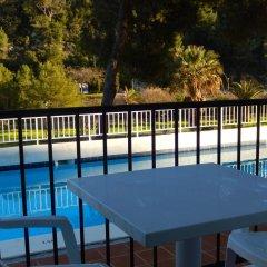 Отель Alta Galdana Playa балкон