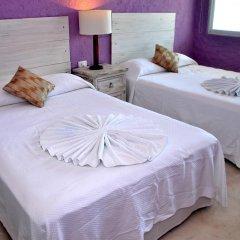 Отель Cielito Holbox 3* Стандартный номер с 2 отдельными кроватями