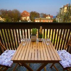 Отель Sanhaus Apartments - Parkowa Польша, Сопот - отзывы, цены и фото номеров - забронировать отель Sanhaus Apartments - Parkowa онлайн балкон