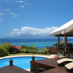 Отель Te Tavake by Tahiti Homes Французская Полинезия, Пунаауиа - отзывы, цены и фото номеров - забронировать отель Te Tavake by Tahiti Homes онлайн бассейн фото 2