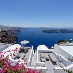 Отель Krokos Villas Греция, Остров Санторини - отзывы, цены и фото номеров - забронировать отель Krokos Villas онлайн бассейн фото 2
