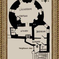 Отель Rapunzel Tower Apartment Эстония, Таллин - отзывы, цены и фото номеров - забронировать отель Rapunzel Tower Apartment онлайн интерьер отеля