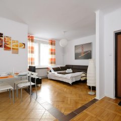 Апартаменты P&O Apartments Galeria Bracka Варшава комната для гостей фото 2