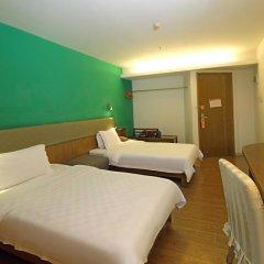 Отель 4th Zhongshan Road Garden Inn 3* Стандартный номер с 2 отдельными кроватями фото 3