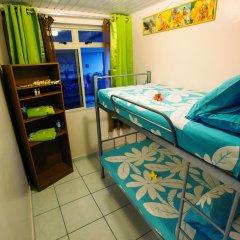Отель Farehau Стандартный номер с двухъярусной кроватью (общая ванная комната) фото 2