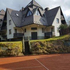 Отель Apartament Pod Butorowym Косцелиско спортивное сооружение