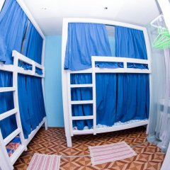Laguna Hostel Кровать в общем номере с двухъярусной кроватью фото 23