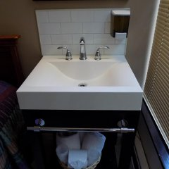 Отель Americana Inn ванная