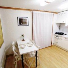 The City Hostel Hongdae Апартаменты с различными типами кроватей фото 8