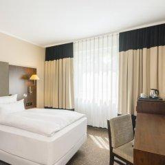 Hotel NH Düsseldorf City Nord 4* Стандартный номер разные типы кроватей фото 10
