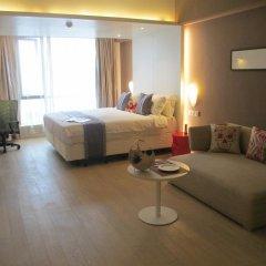 Отель Citadines Central Xi'an Студия с различными типами кроватей фото 8